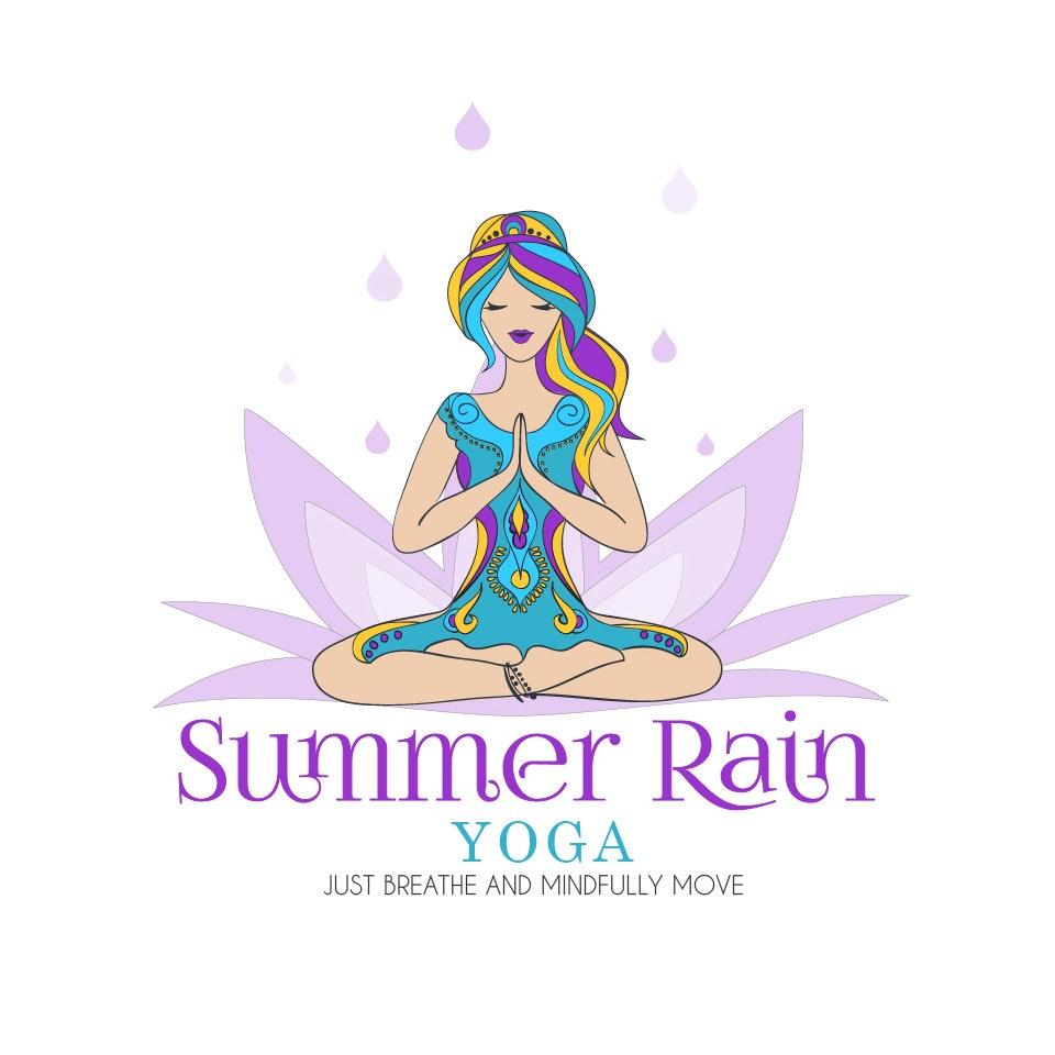 Summer Rain Yoga logo