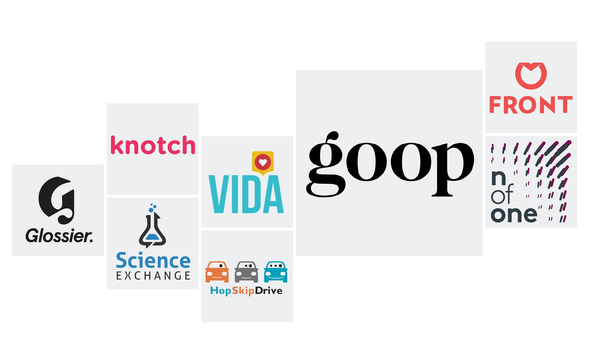 Logo trends amongst female-founded, run and funded businesses
