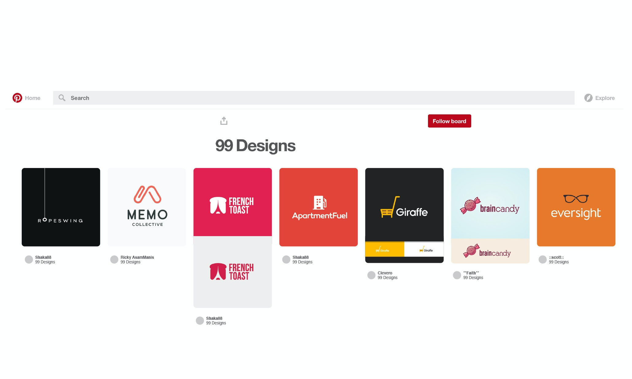Using Pinterest to get your logo right