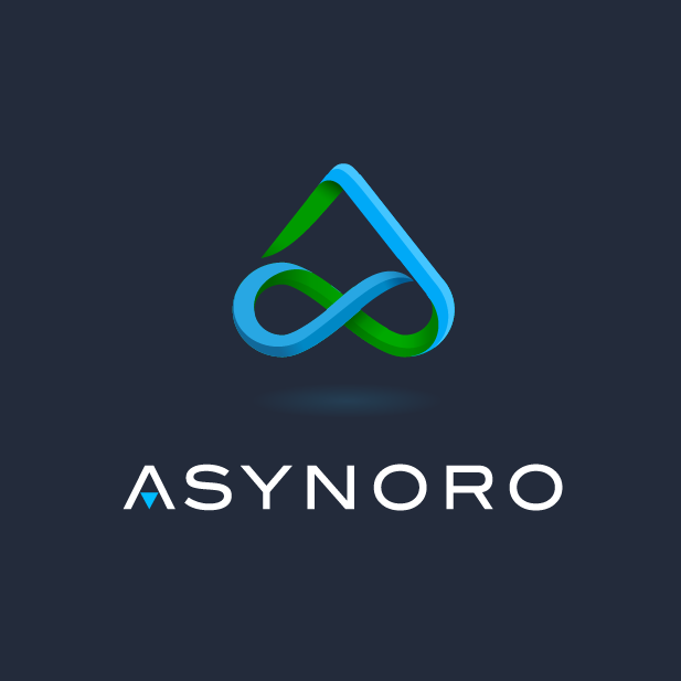 18 triangle logos that get to the point 99designs asynoro logo by musework thecheapjerseys Choice Image