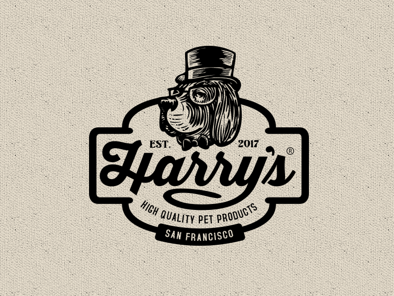 Harrys pet products logo