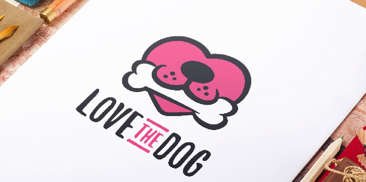Love the Dog logo