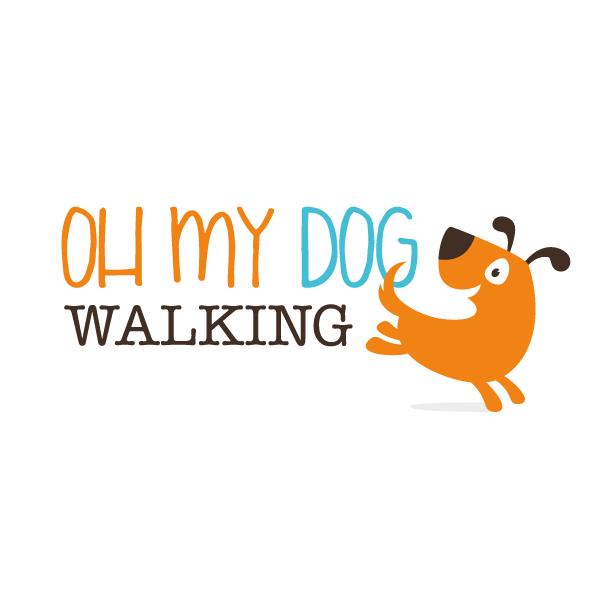 Oh My Dog Walking logo