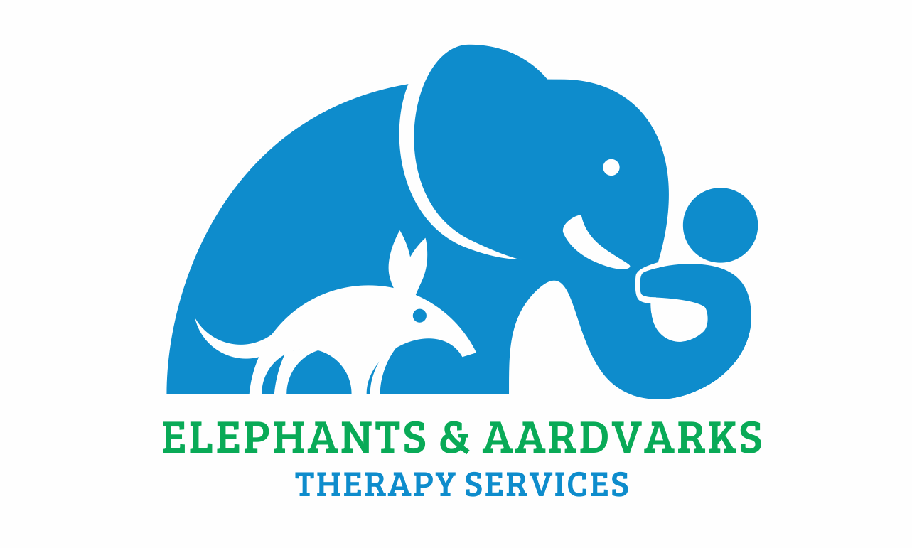 Logo with elephant and aardvark