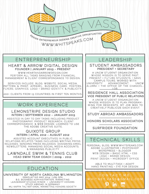 7 resume design principles that will get you hired - 99designs