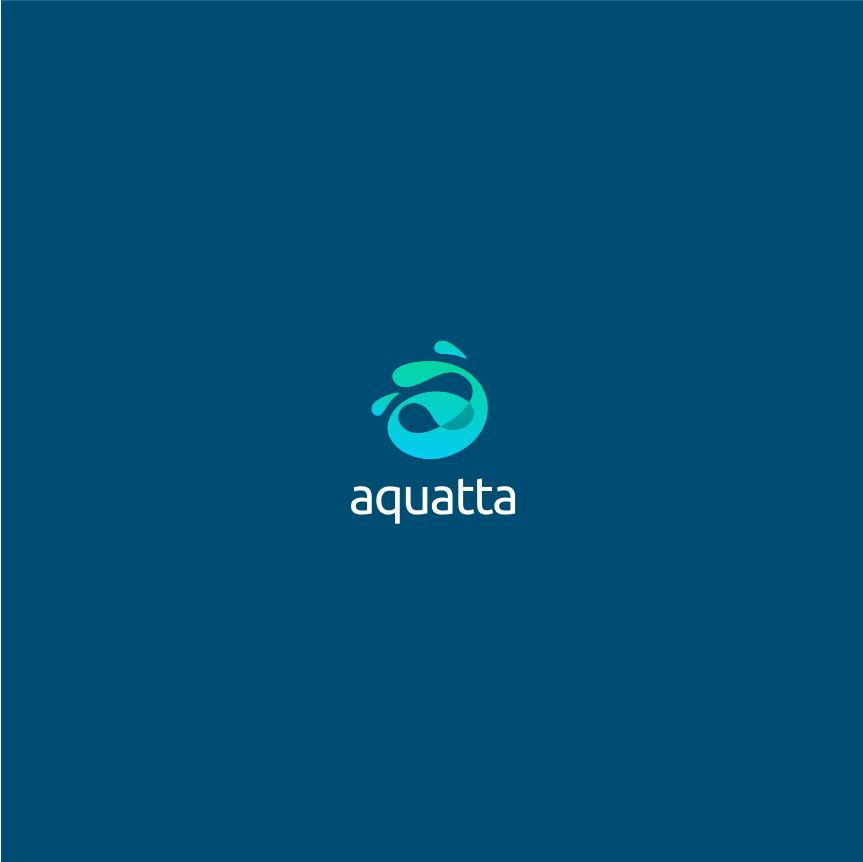 Aquatta logo concept