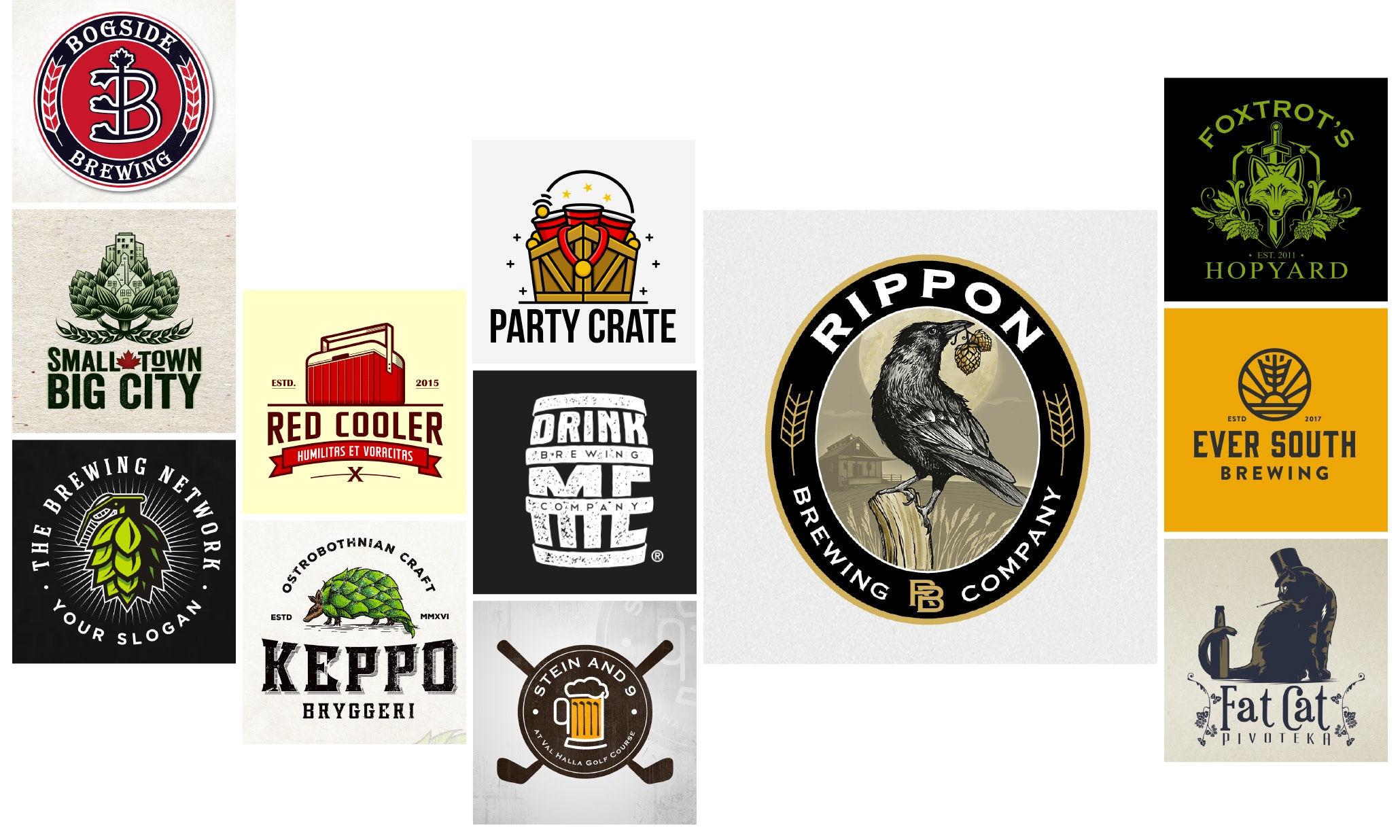 47 beer and brewery logos to drink in