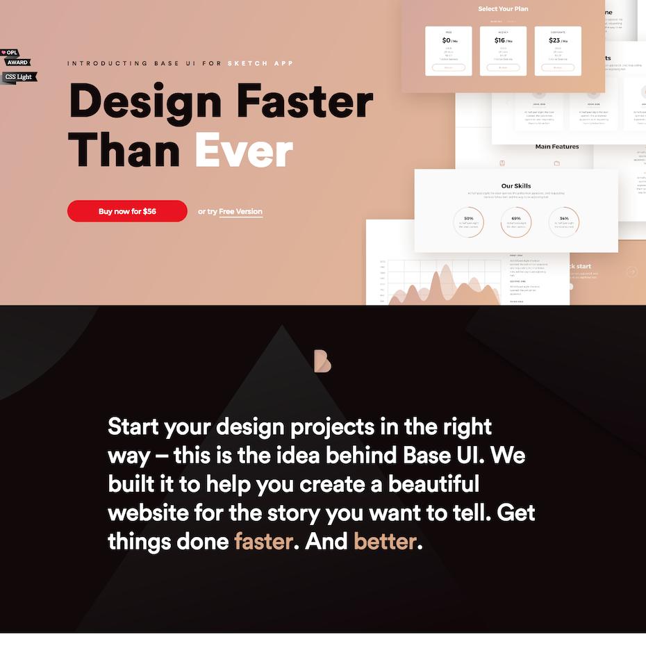 Base UI website screenshot
