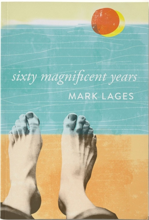 Sixty magnificent years book cover design