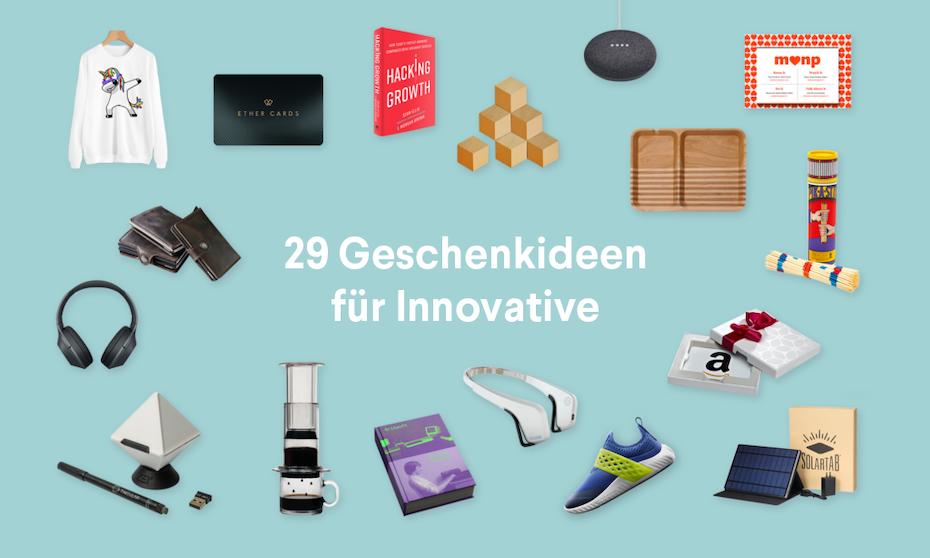 30 Geschenkideen für die Innovatoren in deinem Leben - 99designs