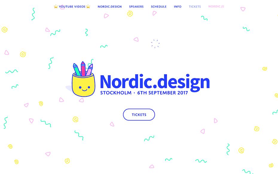Nordic.design website screenshot