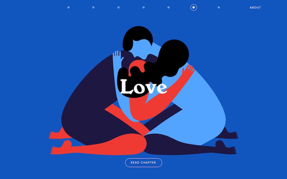 Matisse inspired illustration