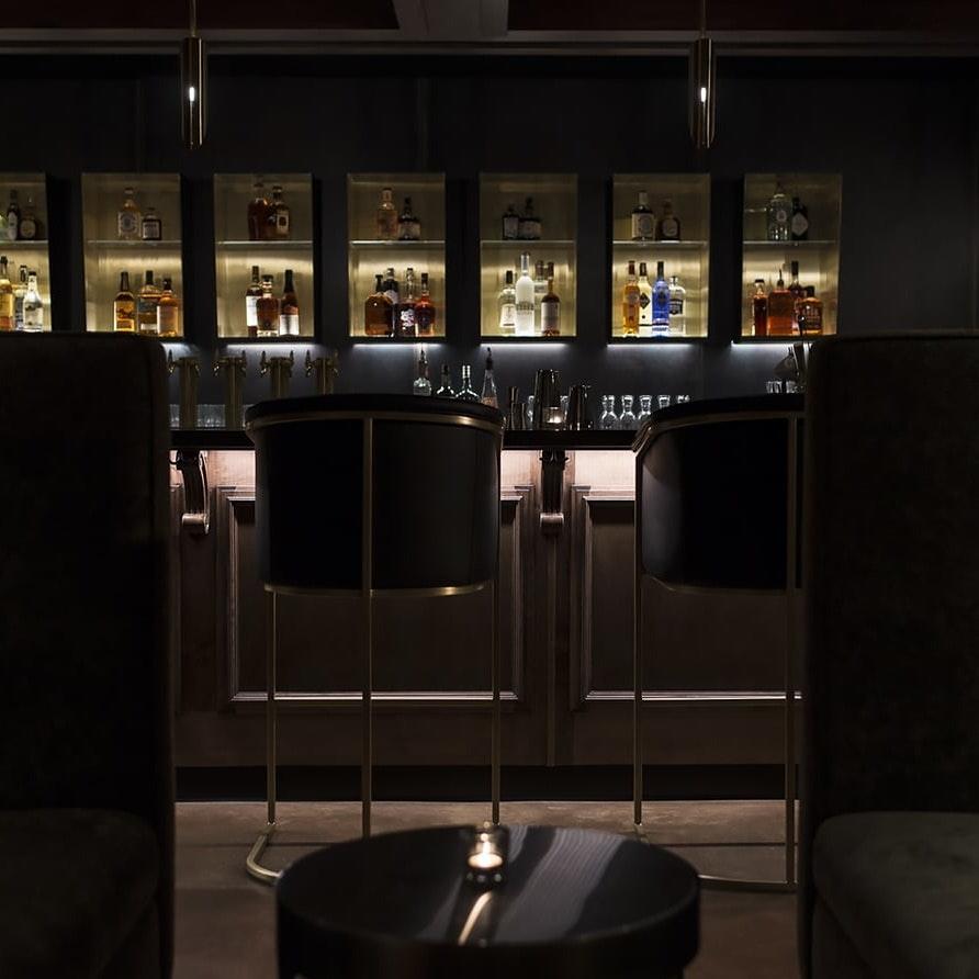 Undercroft bar architecture