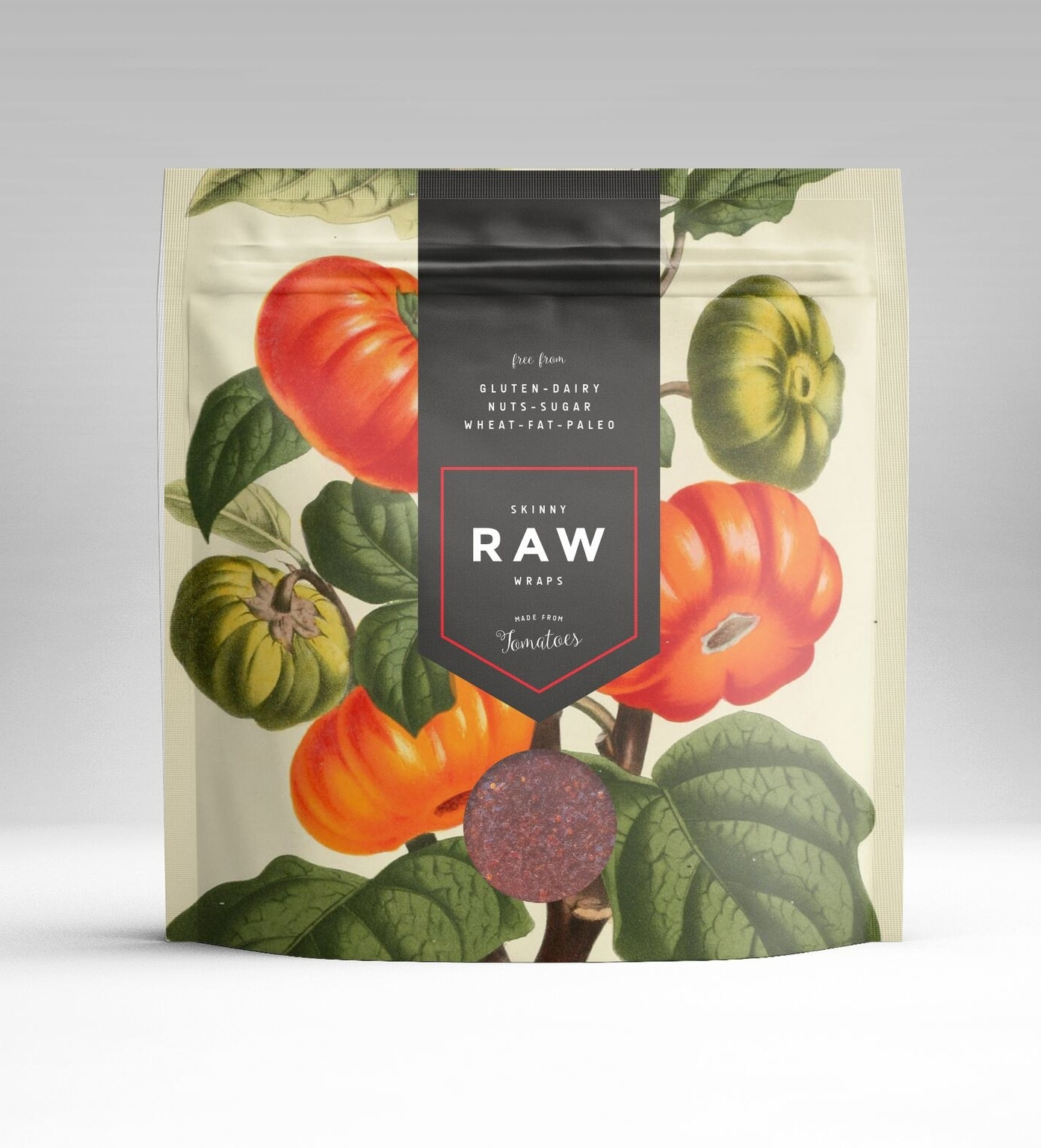 health food packaging