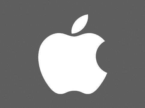 The Apple logo