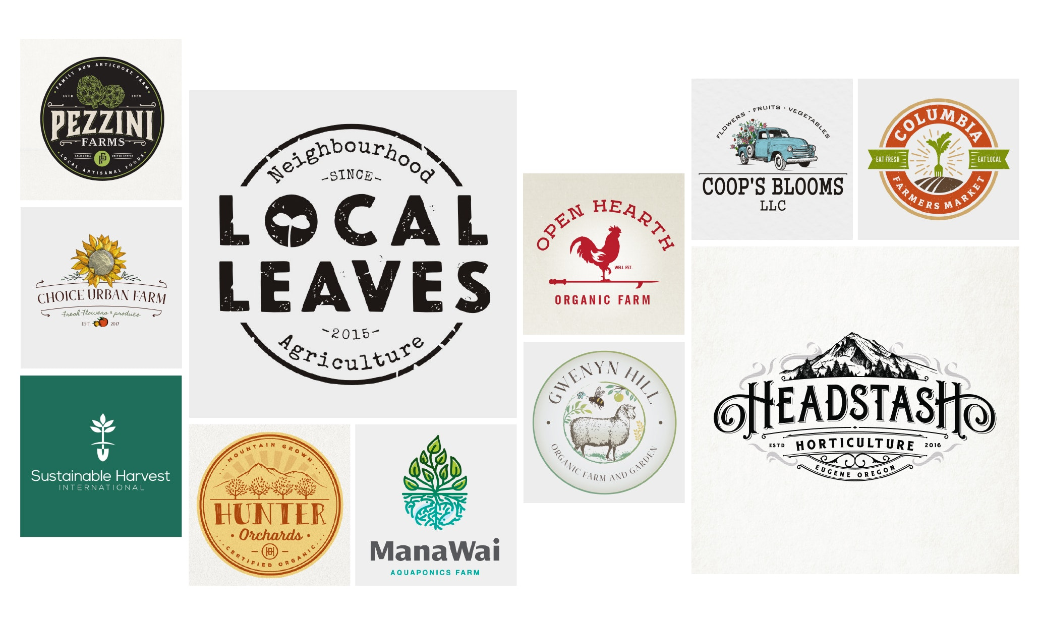 32 farm logos we really dig
