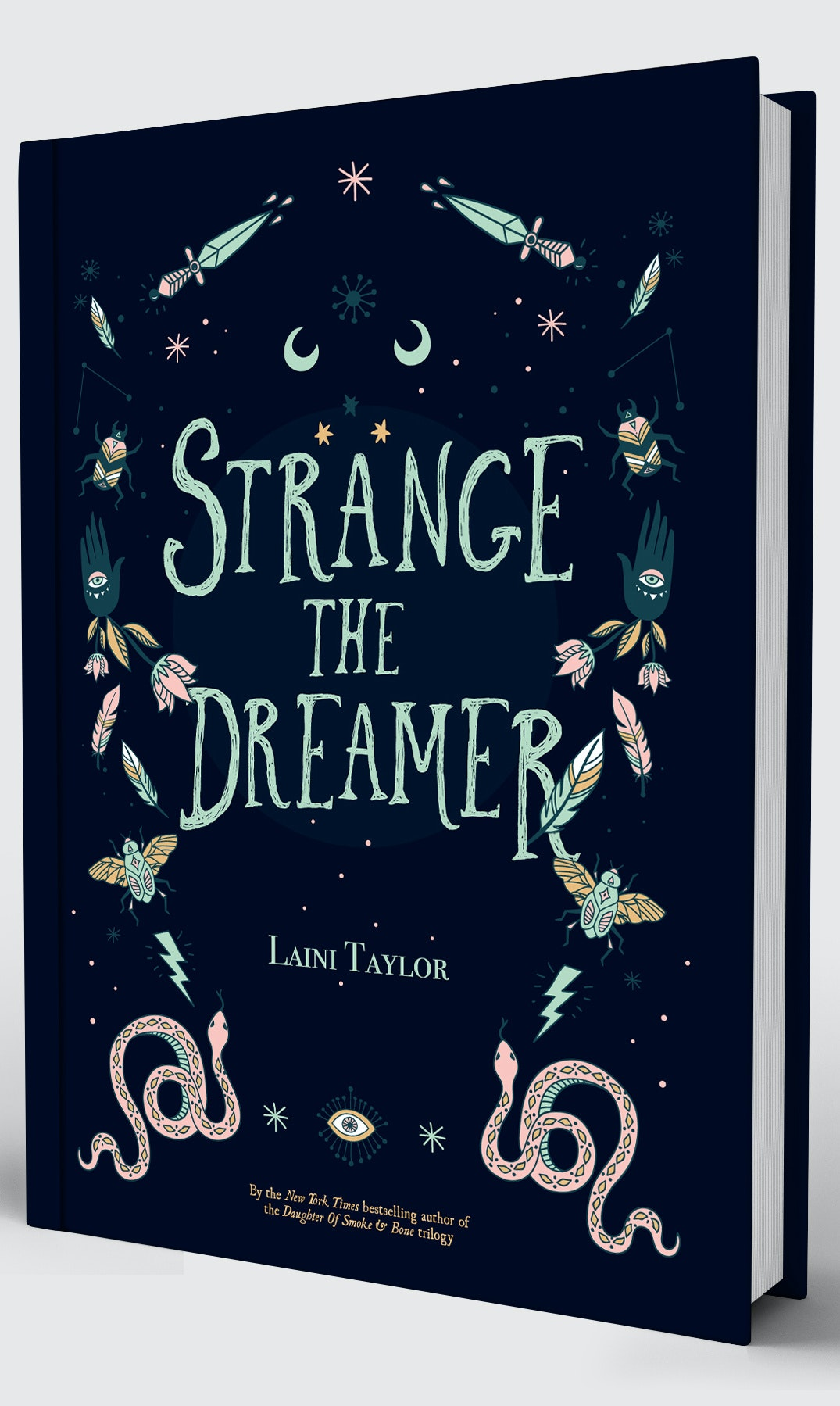 Strange the Dreamer Cover Redesigned