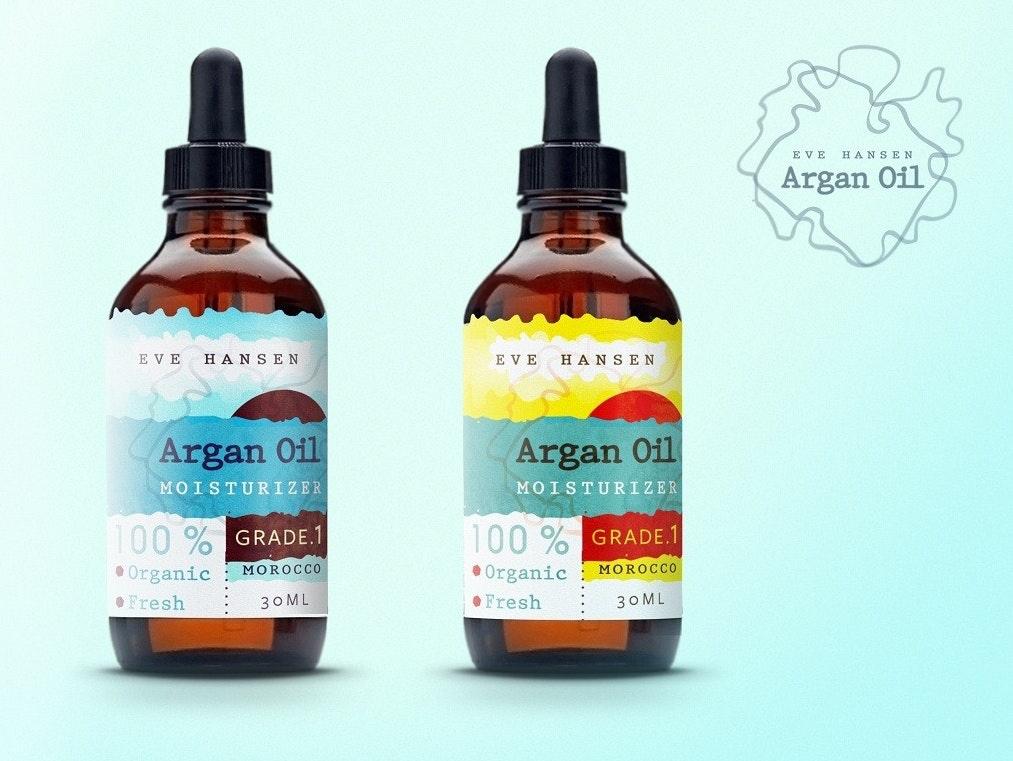 Argan oil design