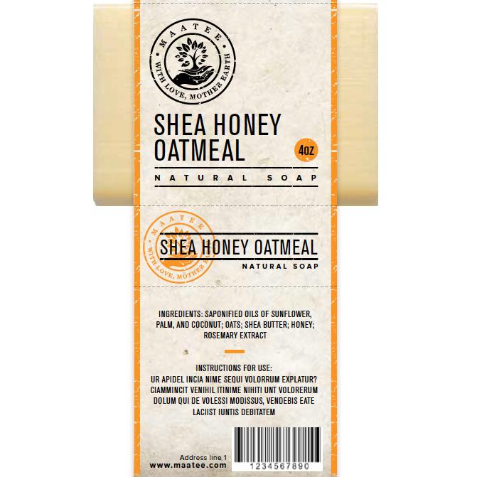 orange soap label