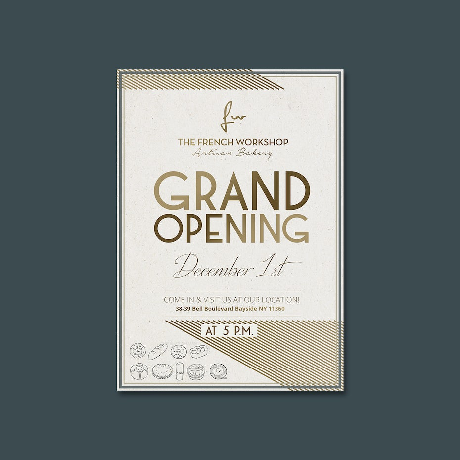 99 flyer design ideas that will give you wings 99designs flyer for a grand opening biocorpaavc Images