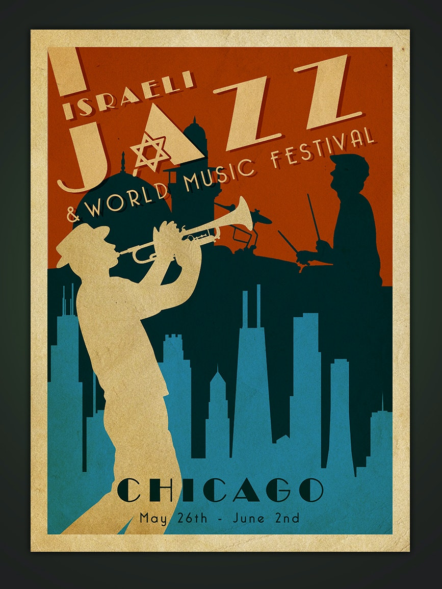 Flyer for a jazz festival