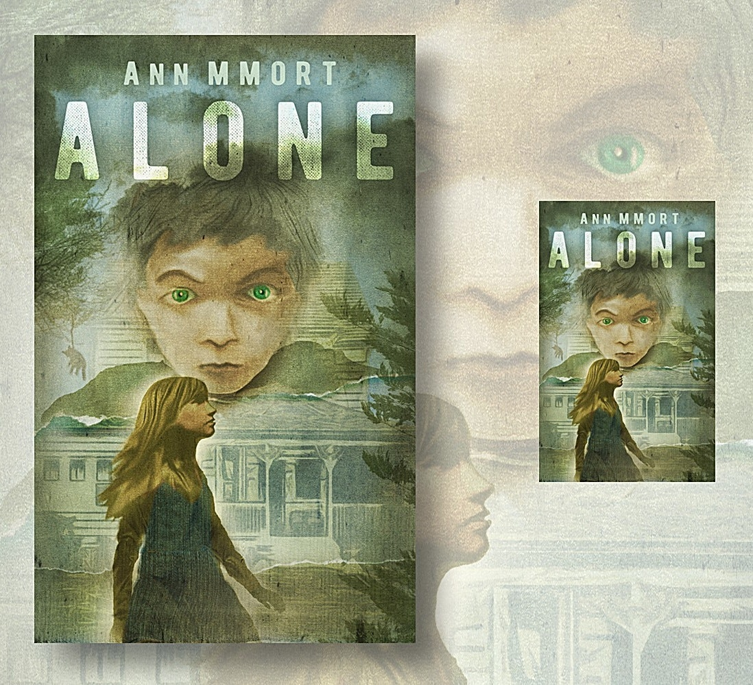 eBook cover for Alone
