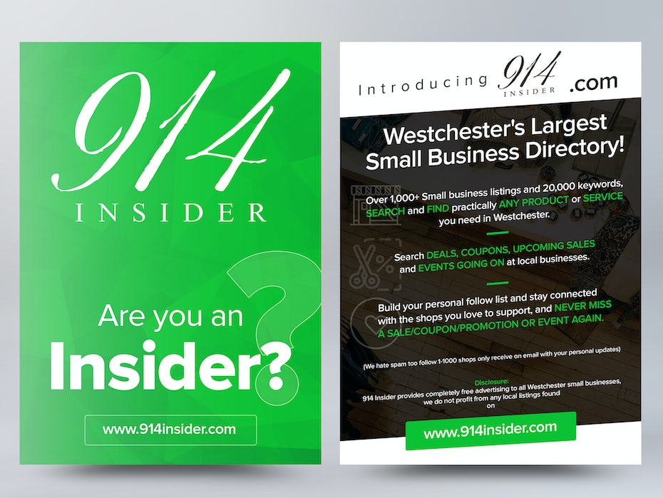99 flyer design ideas that will give you wings 99designs flyer for a small business directory fandeluxe Images