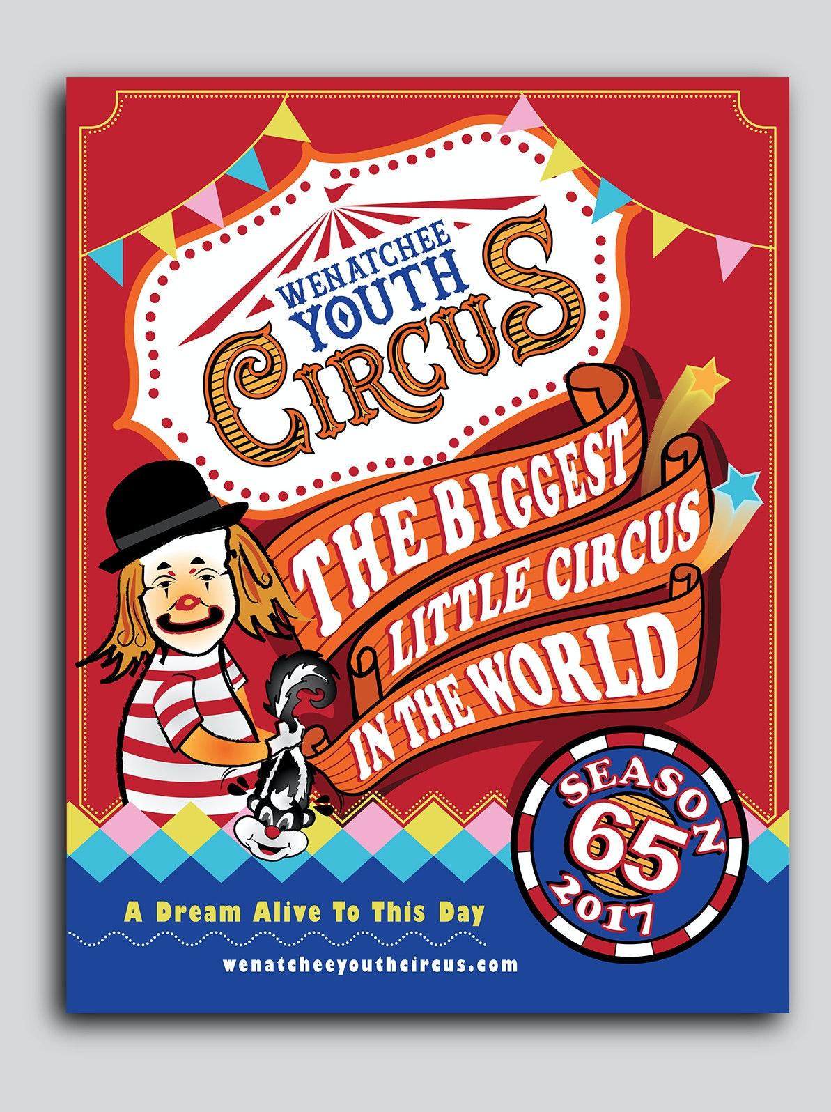 Circus flyer for a circus