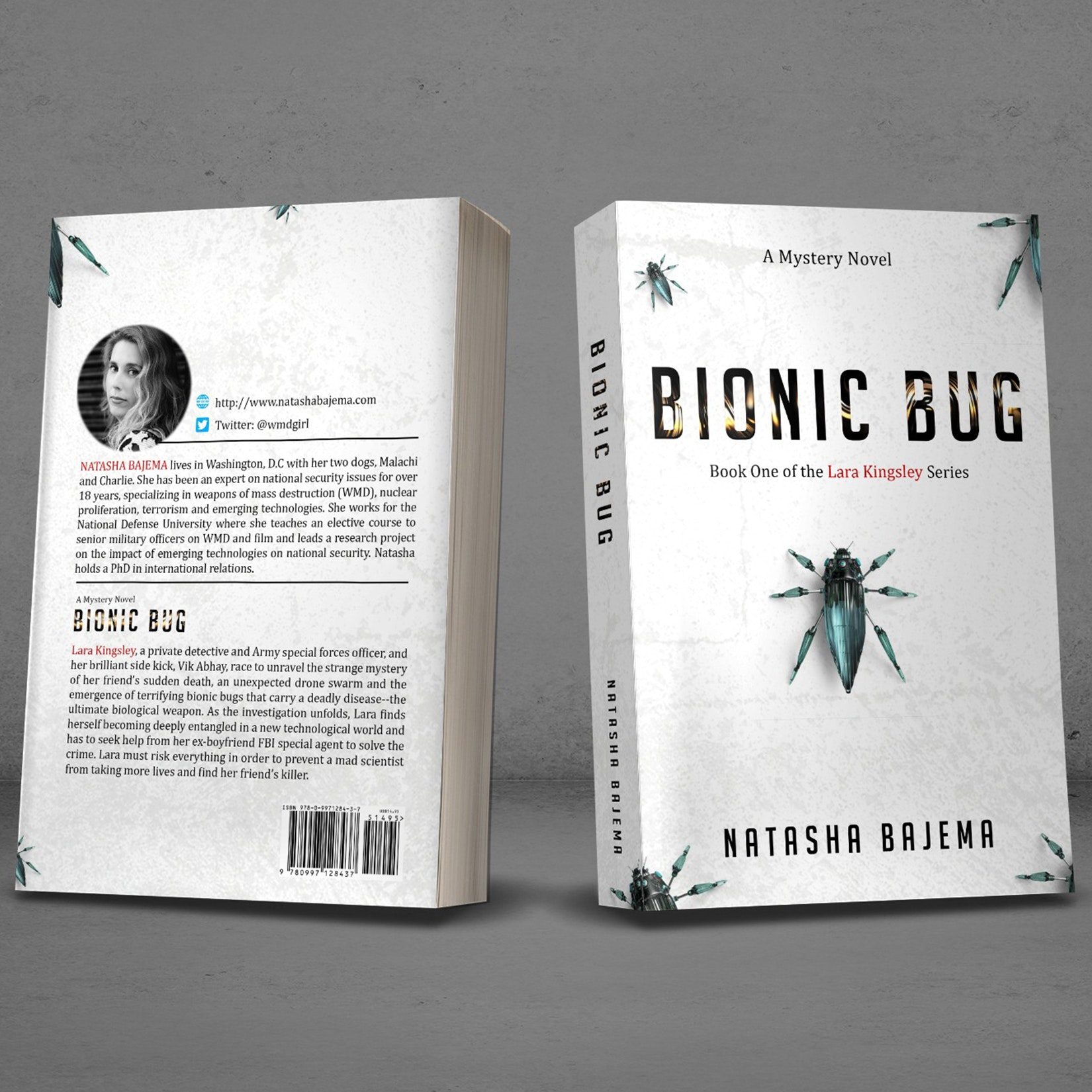 Book cover with a spooky bio-tech vibe