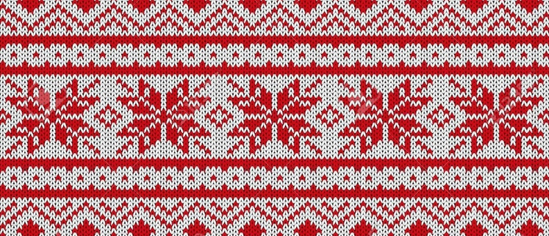 A Scandinavian sweater pattern