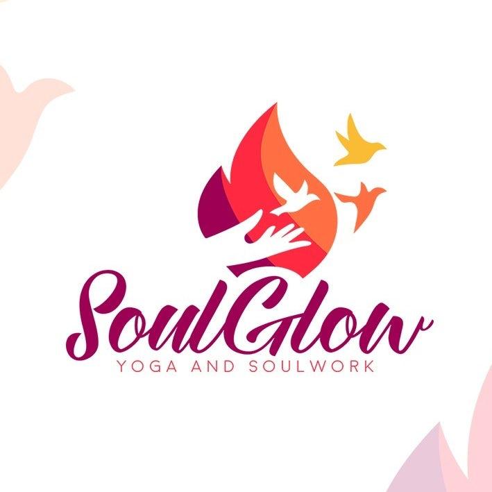 Logotipo con colores armoniosos para el brillo del alma