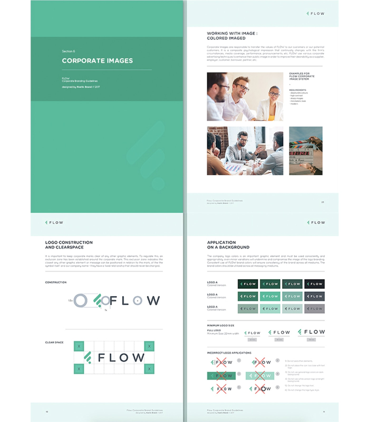 FLOW brand style guide