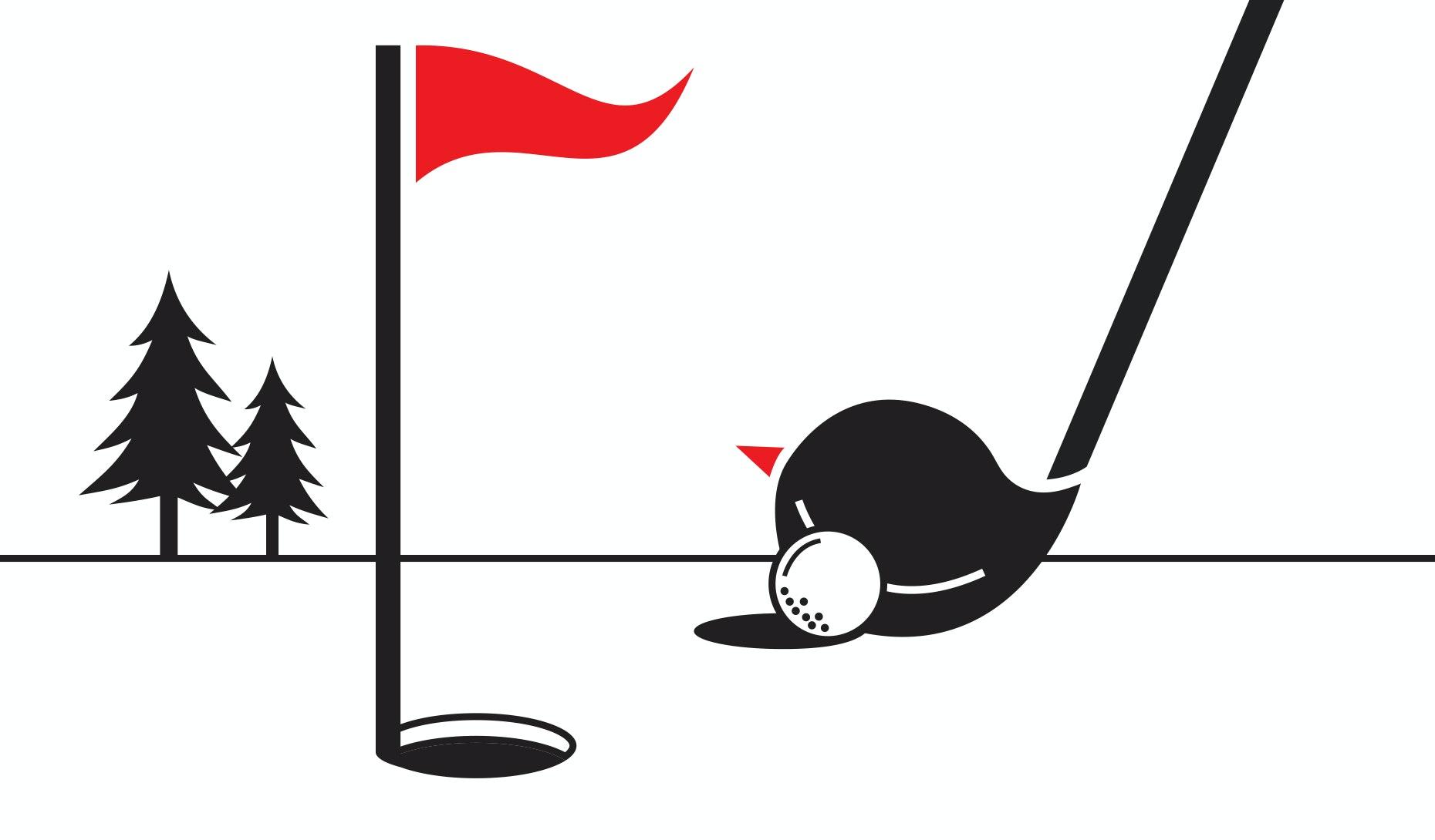 30 Golf-Logos, die es in sich haben