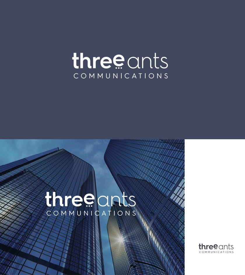 THREE ANTS COMMUNICATIONS brand style guide