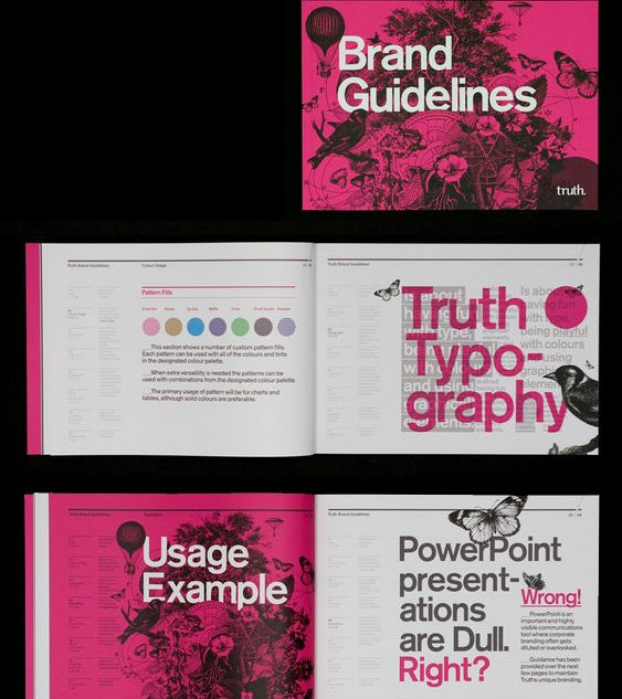 TRUTH. brand style guide