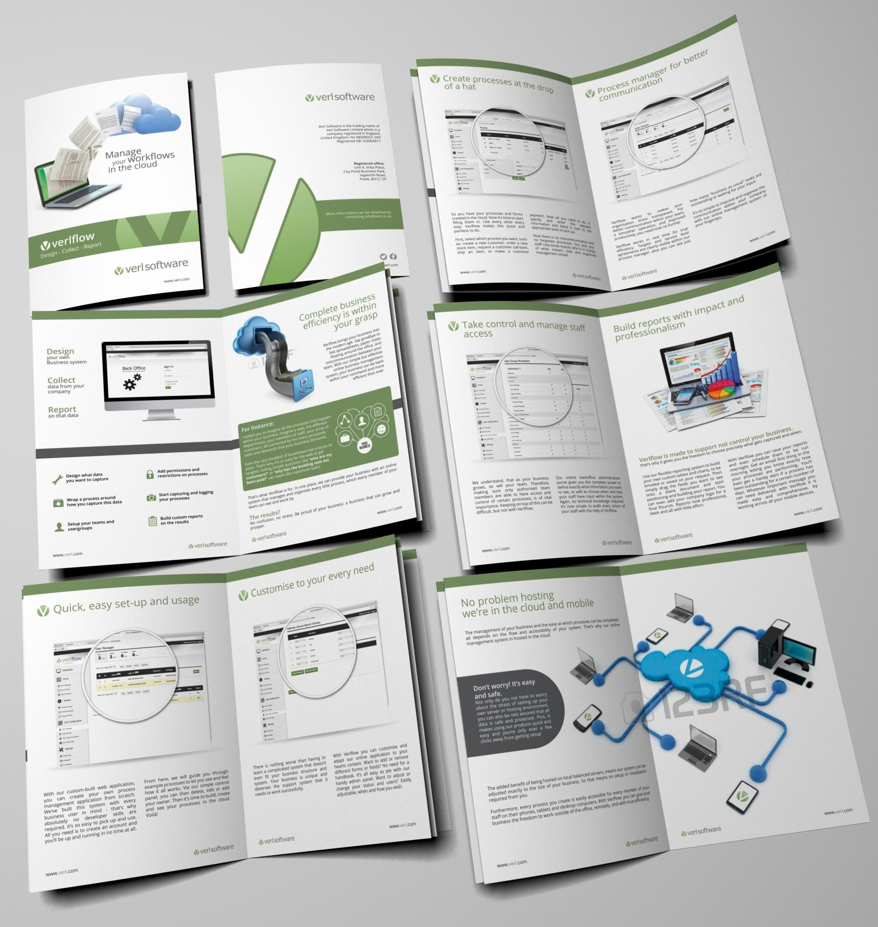 Verl Software brochure