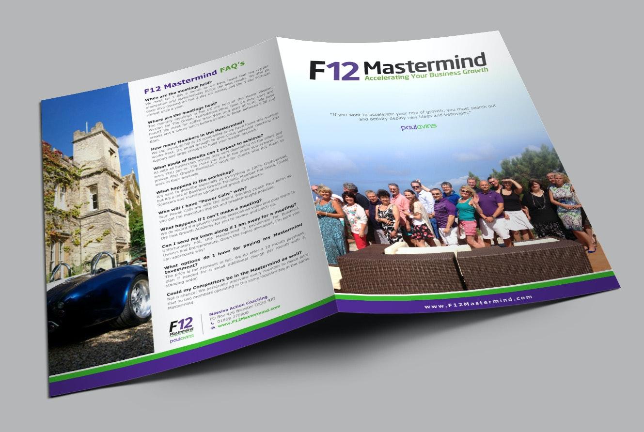F12 Mastermind brochure