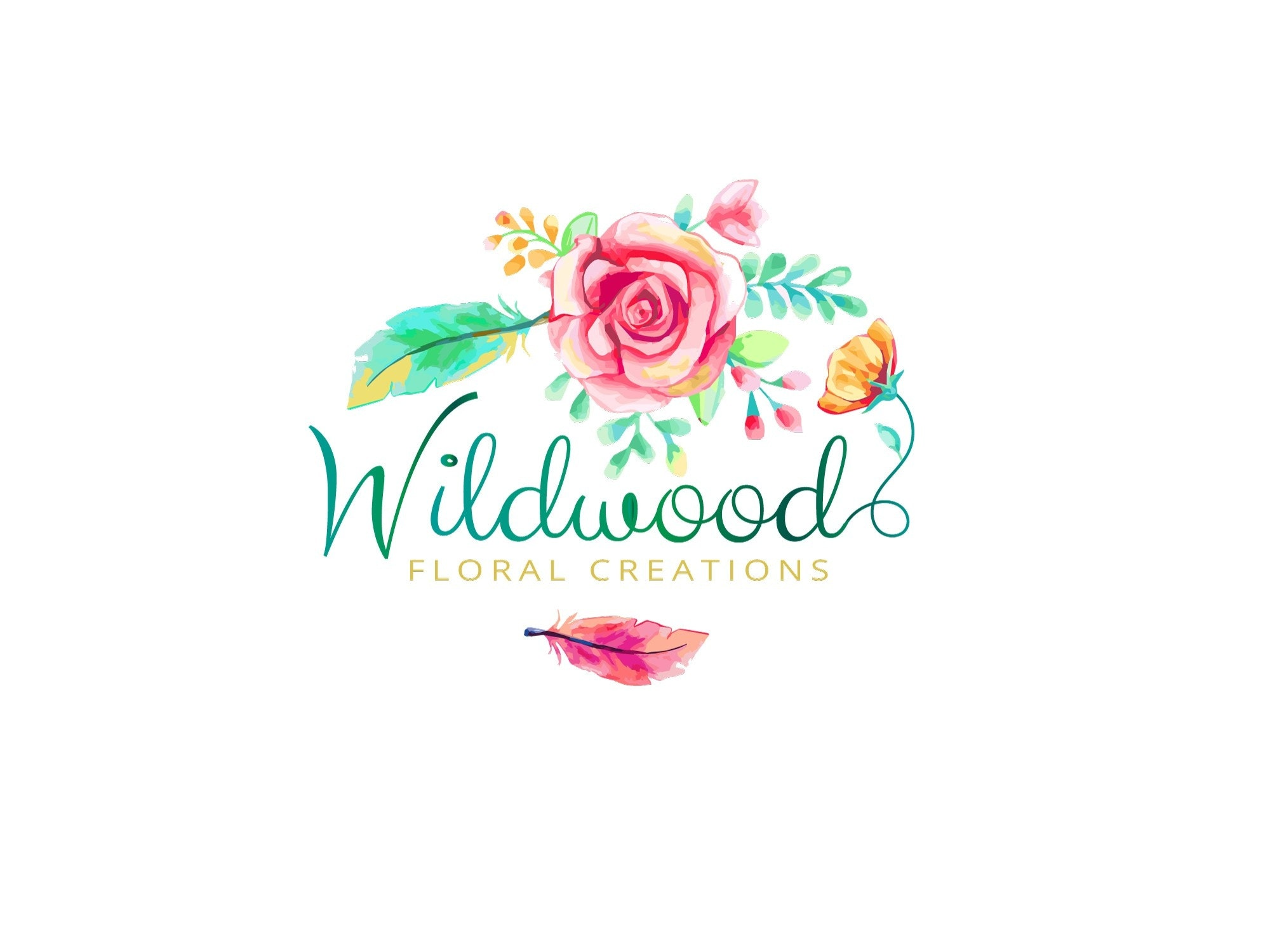 Wildwood Floral Creations logo