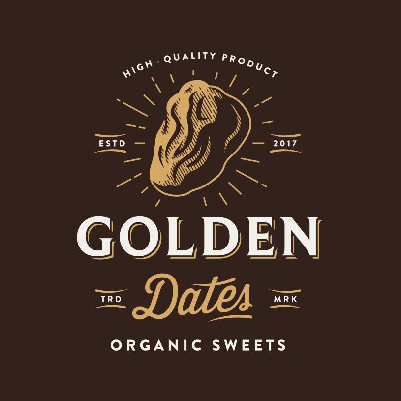 logotipo marrón