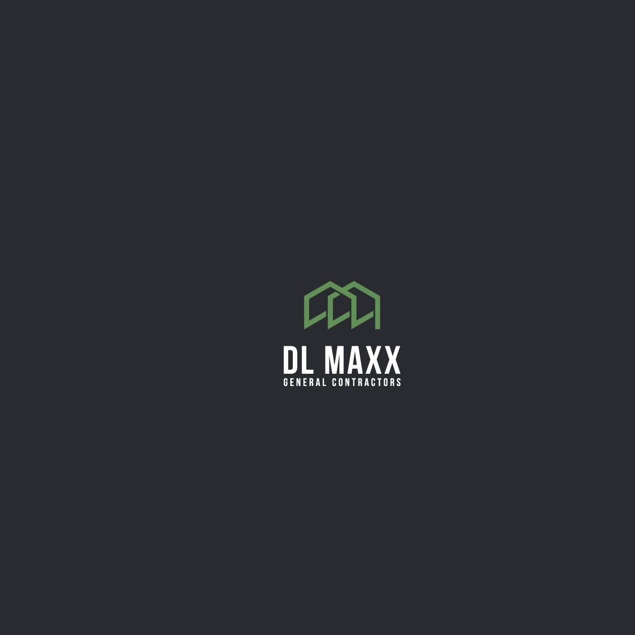 Logo with overlapping houses concept