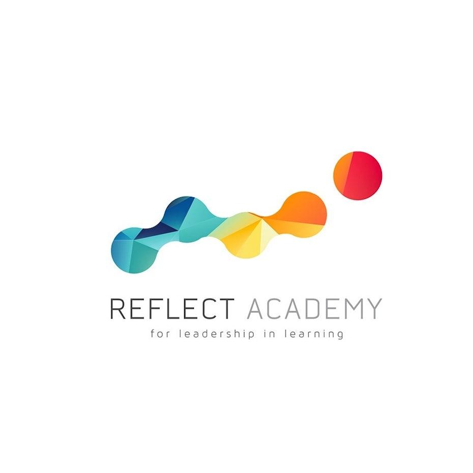 Diseño de logotipo moderno para reflejar academia