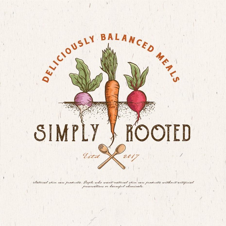 logotipo vegetal