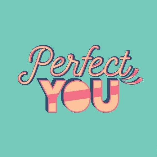 Display font for Perfect You.