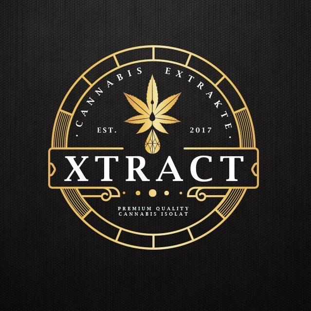 Elegant cannabis logo design