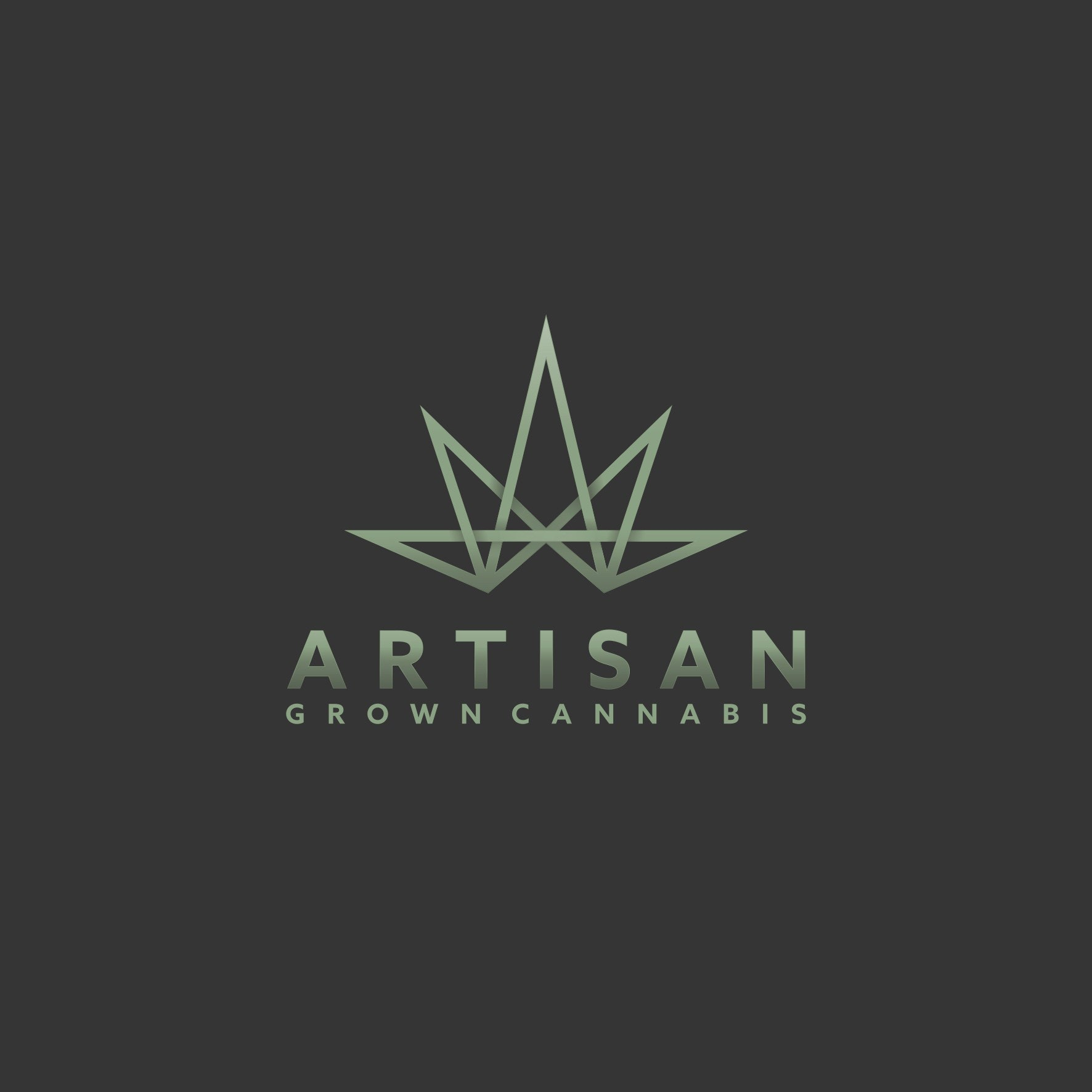 Modern cannabis logo design for Artisan