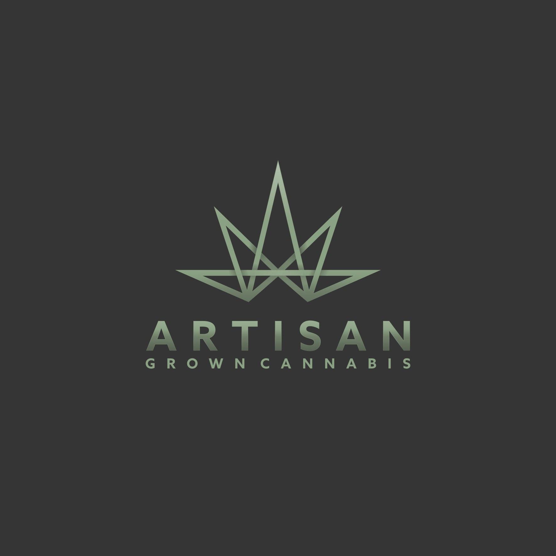 Modern cannabis logo design for Artisan