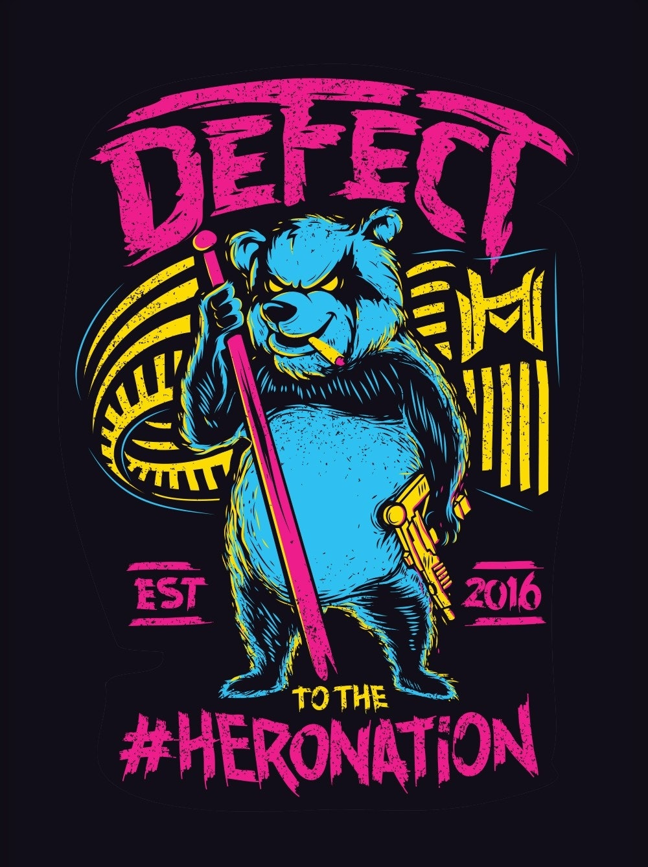 Defect hoodie