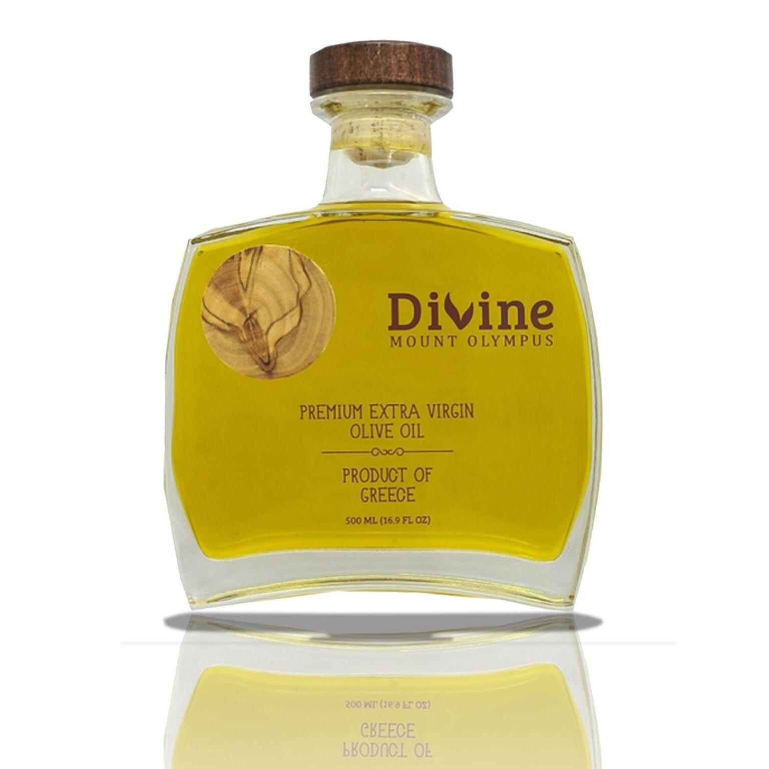 Premium olive oil design