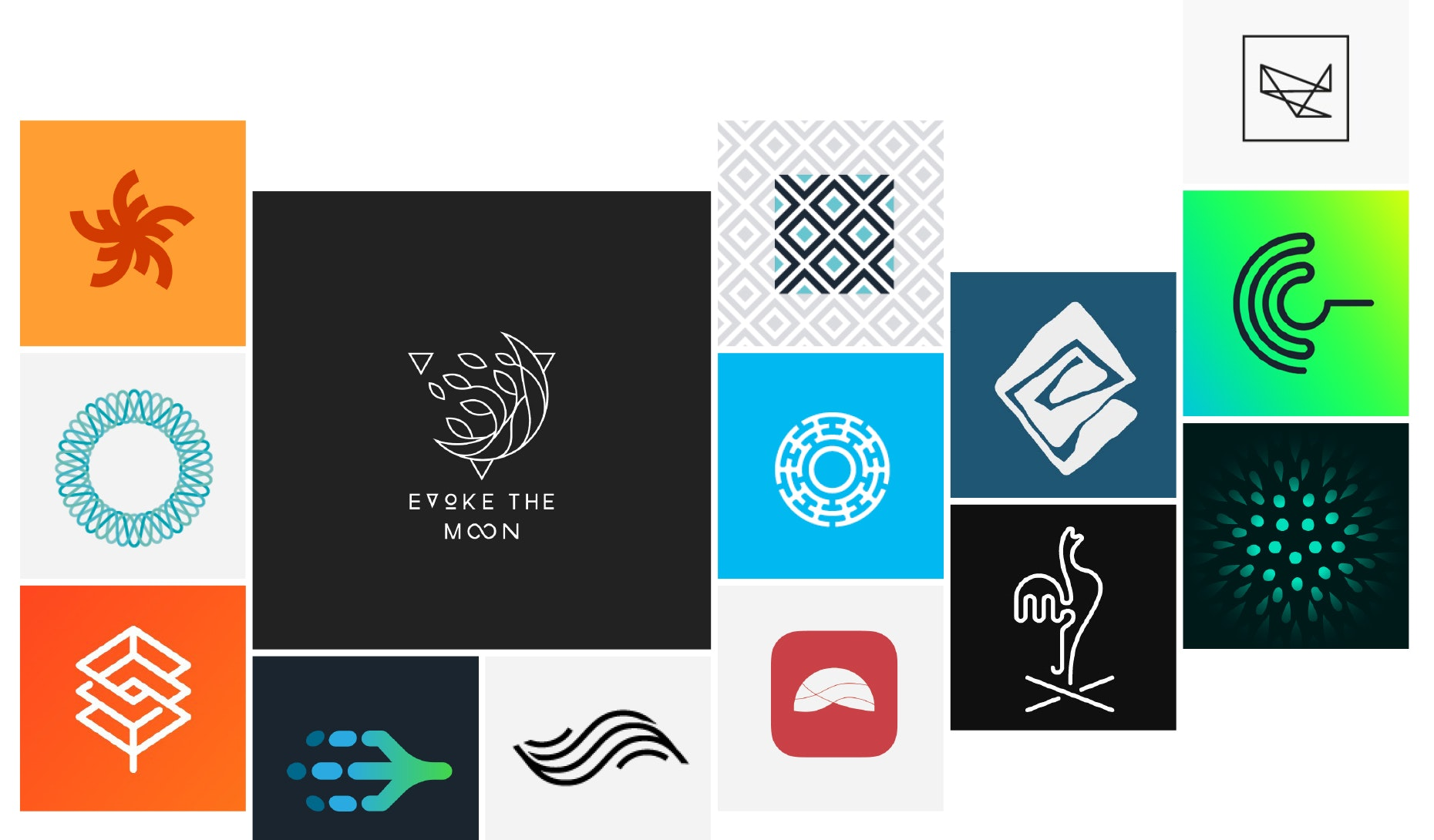 22 abstract logos that are more than just a feeling