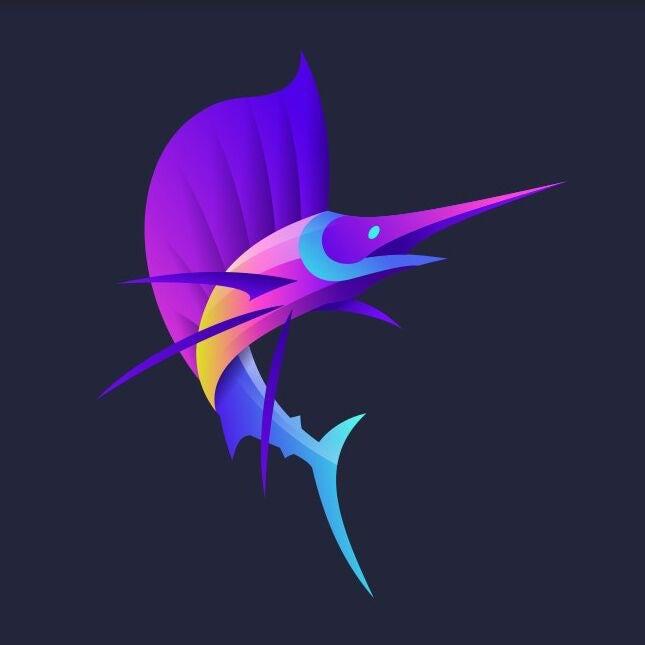Konsep logo Broome Gamefishing Charters